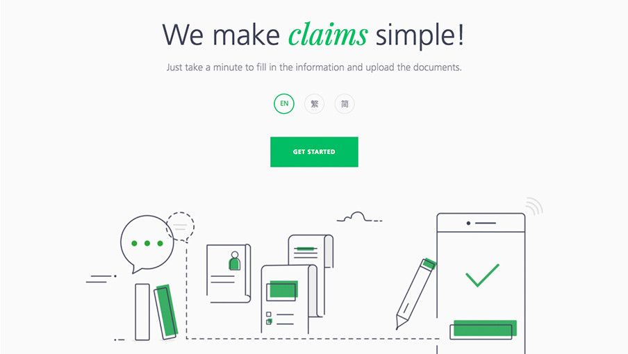 We make claims simple! Manulife eClaims service is launched!