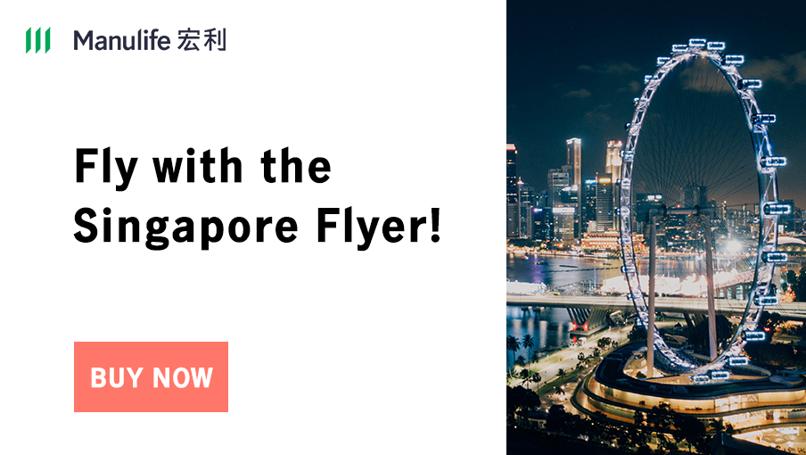 Ride on the Asia's biggest observation wheel in Singapore!
