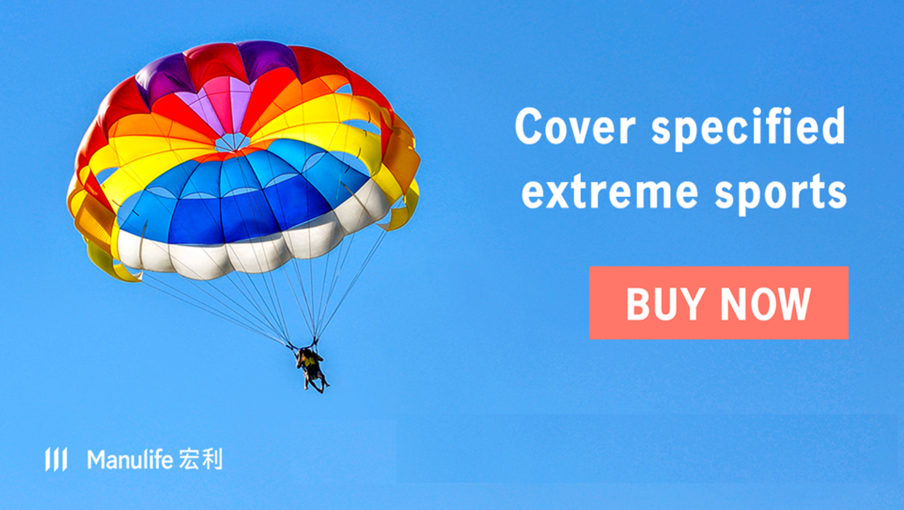 Enjoy skydiving and other extreme sports!