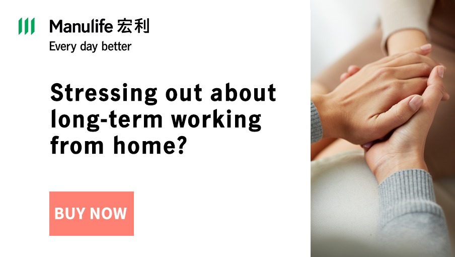 Psychological counselling expenses coverage up to HK$1,000
